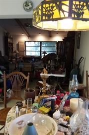 GREAT SELECTION OF LAMPS & PRIMITIVES