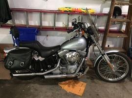 2001 Harley Davidson Softail Motorcycle .  18.030 miles.