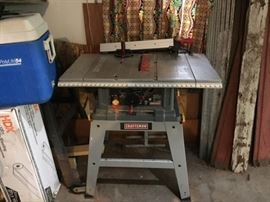 Craftsman Table Saw.