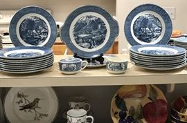 Currier & Ives China