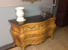 Nice marble top chest