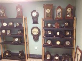 Vince age working clocks