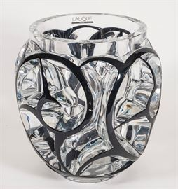 "Lalique limited edition ""Tourbillons"" Vase."