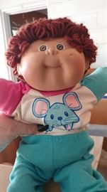 Large collection of Cabbage Patch dolls