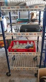 Variety of store display carts
