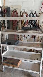 Display rack on wheels