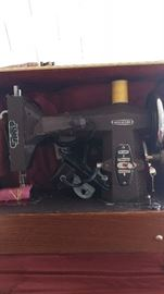 Vintage Kenmore sewing machine in the box