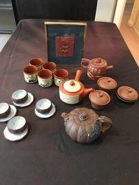 Asian Inspired Tea Set