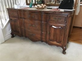 Matching Sideboard and China cabinet