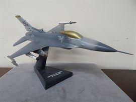 Model fighter jet