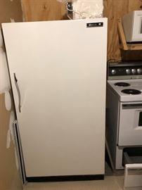 Bradford brand upright freezer