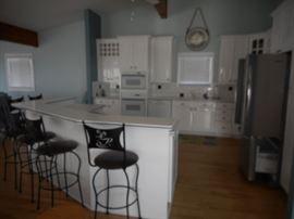 Wow - what a pretty kitchen