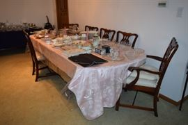 Dining Table, Chairs