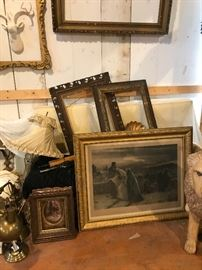 old picture frames