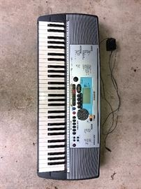 Yamaha PSR 225GM - 61 Key Portable.  with cord.  Works well with amplifier. $20