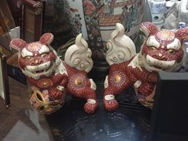 Pair of Asian Foo Dogs