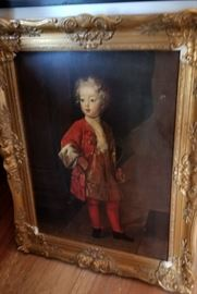 antique oil painting
