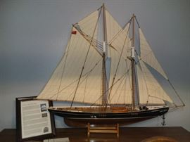 The Bluenose Ship Model