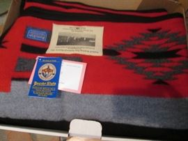 "Pendelton NIB, Ltd. Ed., 64"" X 80"", ""Hubbell Chief Blanket, Phase 2"