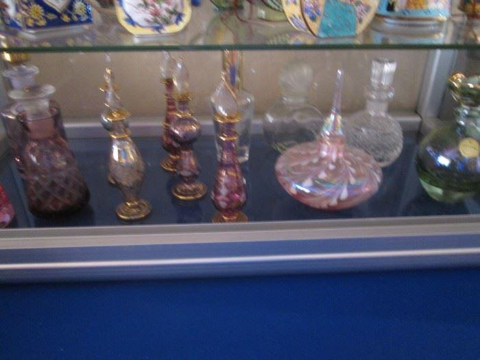 Nice Selection of Perfume Bottles