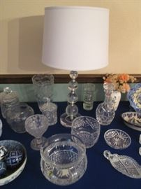 "Waterford Crystal 8"" Deep-Rimmed Bowl, Beautiful!"