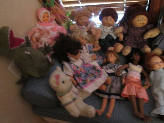 Dolls and Stuffed Animals to Love!