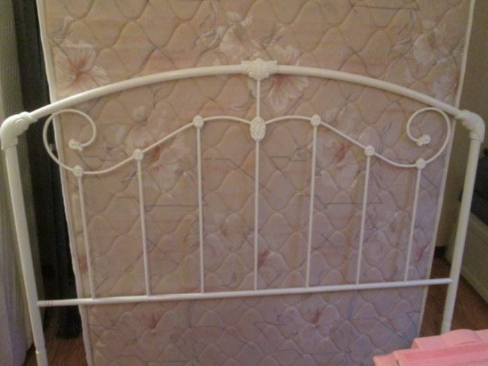 Another Metal Headboard and a 2nd Full-Size Mattress Set