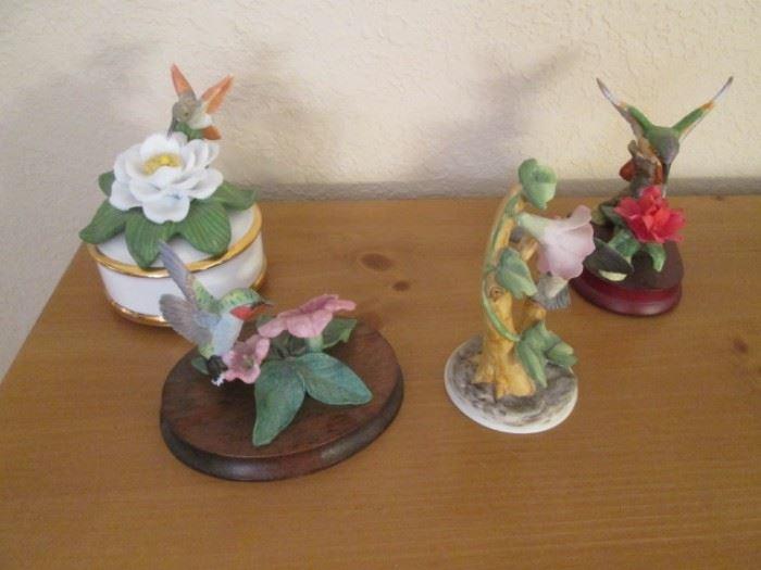 Hummingbird Sculptures by Andrea