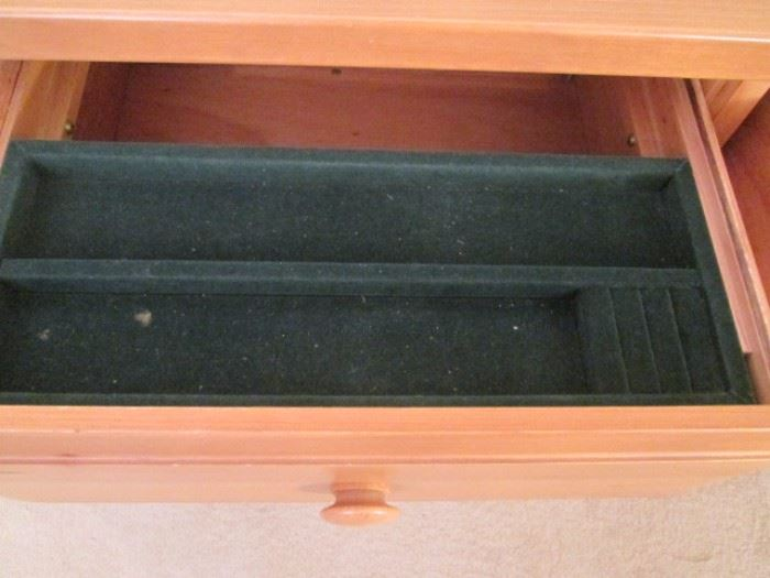 Dresser Jewelry Compartment