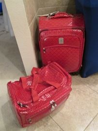 "RED Luggage, ""Bows"" Zen By Jen"