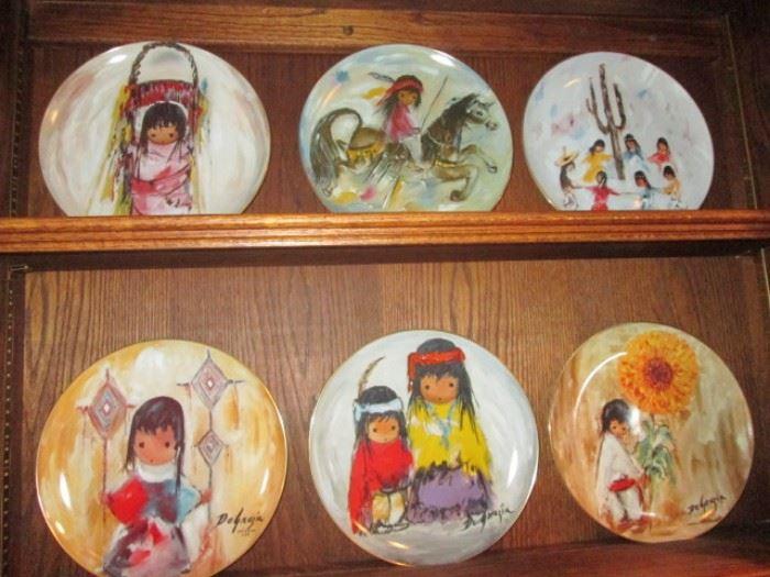 De Grazia Collector's Plates, large selection!
