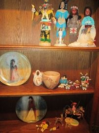 Native American Style Accessories, Pottery, Dolls & Kachina