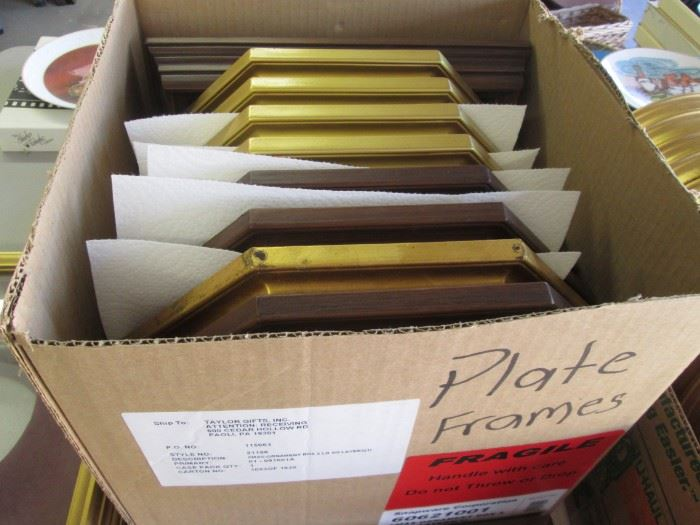 Frames for Plates, several shapes
