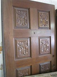 """Solid Core Wood Door, 36"""" wide"""