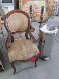 Antique Balloon-Back Chair