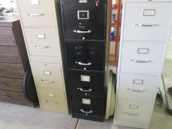 4-Drawer File Units