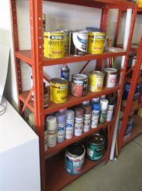 Assortment of Paints