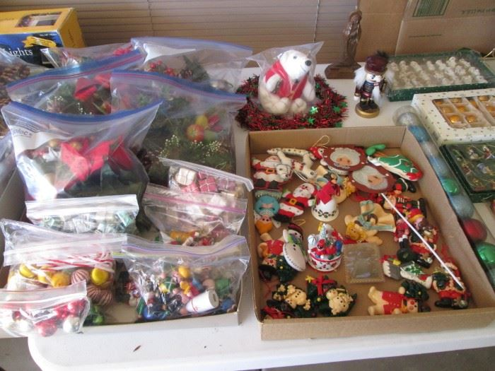 Ornaments and Bagged Decorations