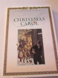 Dicken's Christmas Carol Book