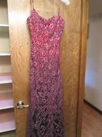 Beaded Gown, Size 12