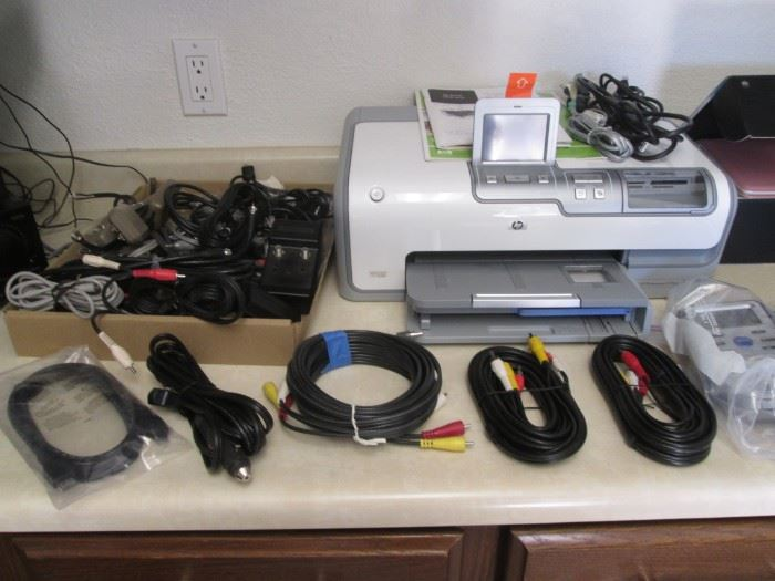 Electronic Accessories + HP #5600 Desk Jet Printer