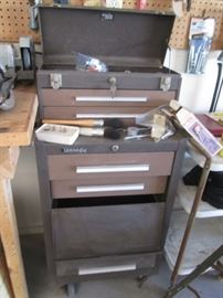 Tool Storage Drawer Unit on Wheels