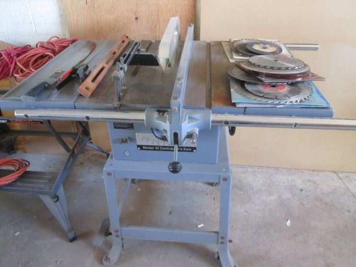 Rockwell #10 Contractor's Saw