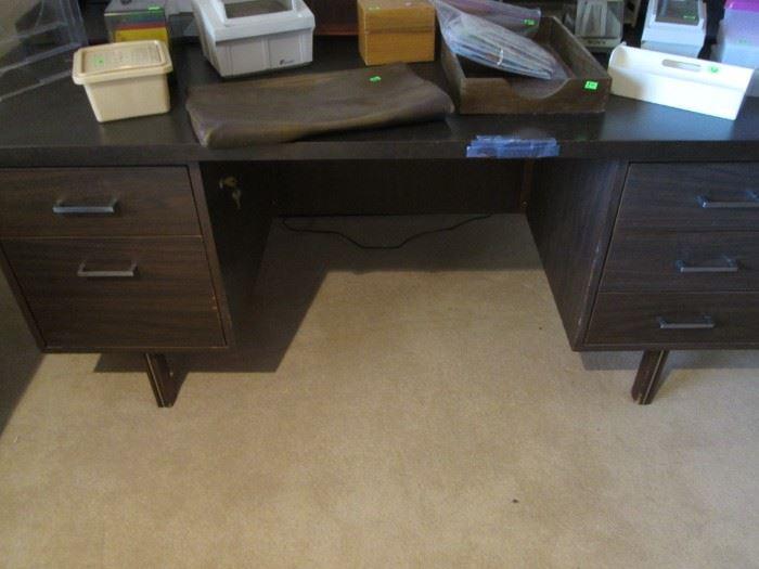 Knee-Hold Desk