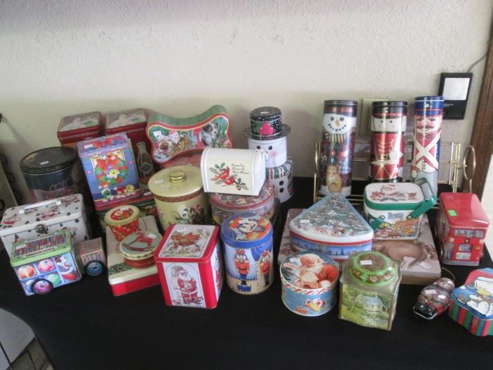 Christmas tins for all your baking