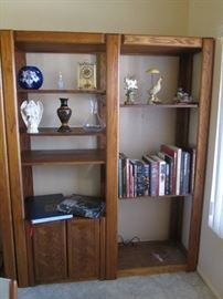 2-2 Piece Shelving & Cabinet Units with Adjustable Shelves