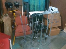 Heavy Metal Office Chairs, Work Lights, Folding Hammock Chairs