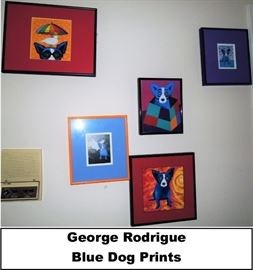 George Rodrigue Blue Dog Prints - Some Signed