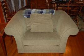 Bauhaus oversize corduroy chair