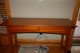 Broyhill console table with two drawers